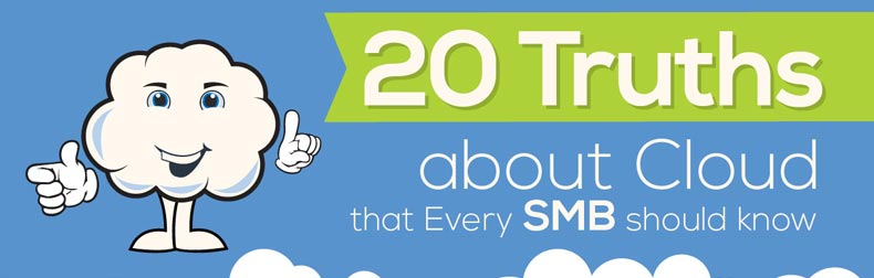 20 Truths About Cloud That Every SMB Should Know Infographic