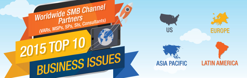 2015 WW SMB Channel Partners Top Business Issues Infographic