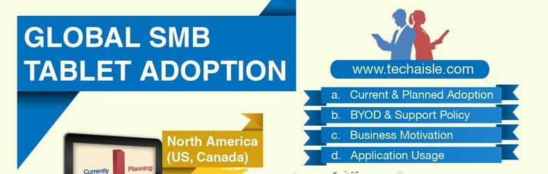 Global SMB Tablet Adoption Infographic
