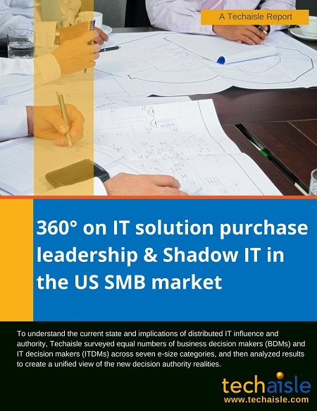 techaisle report us smb it solution purchase leadership shadow it cover