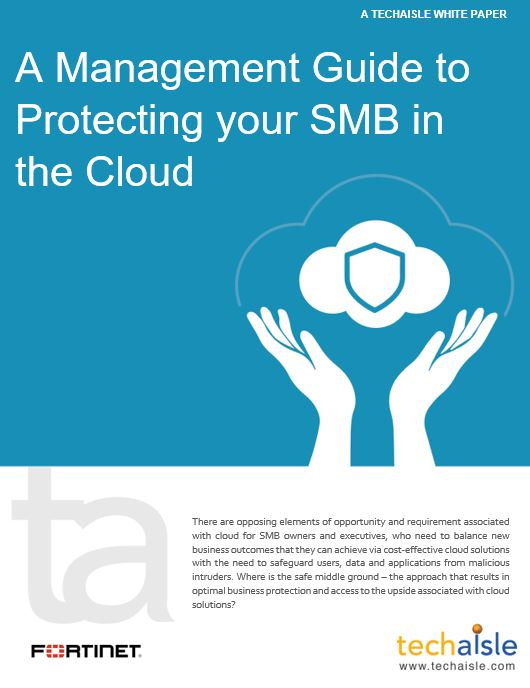 techaisle white paper securing smb cloud cover page