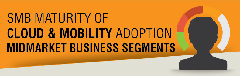 Midmarket Cloud & Mobility Maturity Segments Infographic