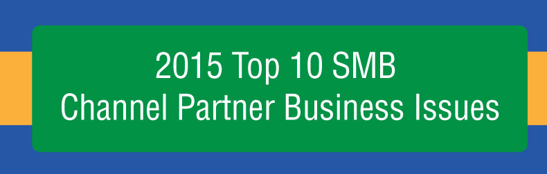 2015 SMB Channel Partner Business Issues Infographic