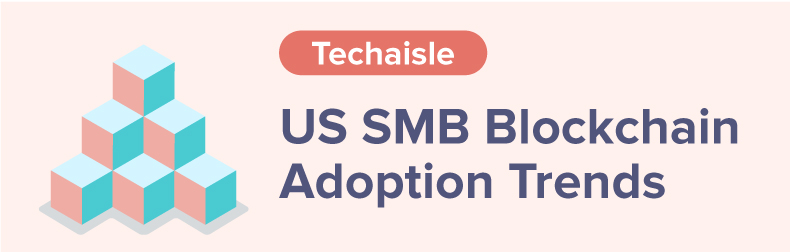 US SMB & Midmarket Blockchain adoption Infographic