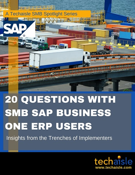 20 Questions with SMB SAP ERP Users