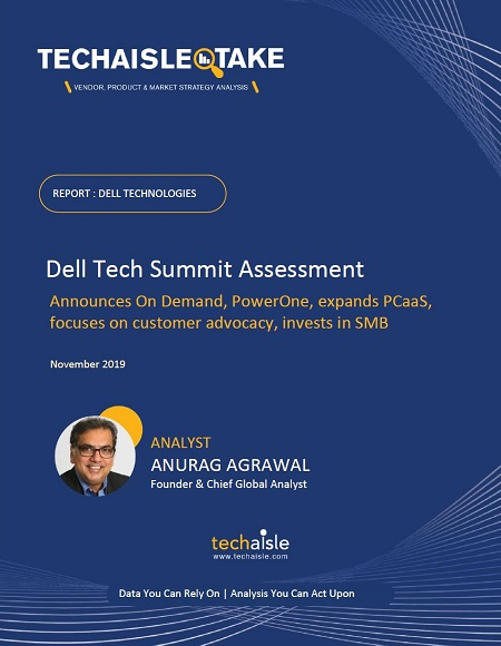 techaisle take dell tech summit 2019 cover page resized