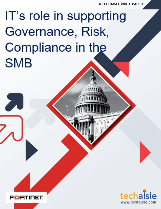techaisle white paper smb governance risk cover page